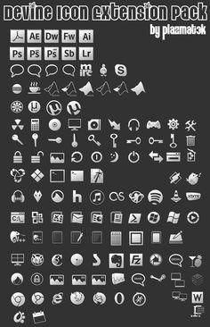 Devine Icon Extension Pack 1 by plazmat3k.deviantart.com