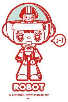 Charuca Robot by charuca, via Flickr