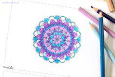 Ausmalbild für Erwachsene mit Wayfair // Colouring Page
