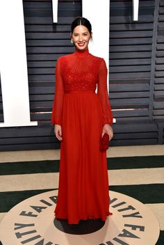 Olivia Munn attends the 2017 Vanity Fair Oscar Party hosted by Graydon Carter at Wallis Annenberg Center for the Performing Arts on February 26, 2017 in Beverly Hills, California. (Photo by John Shearer/Getty Images)