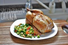Spiced & roasted chicken!