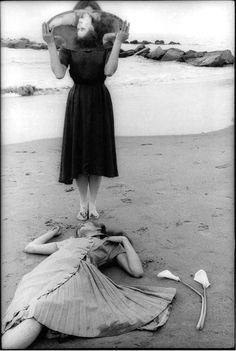 Francesca Woodman's photography. One of my favorite photographs taken by her.
