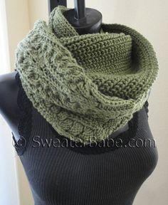 #164 Night and Day Eternity Scarf PDF Knitting Pattern #knitting #SweaterBabe.com