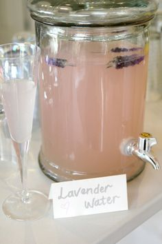 healthy party drink and nibble ideas