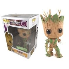 Groot (Glow in the Dark) Pop Vinyl Pop Marvel #49 Released 2014 Excl. to Loot Crate