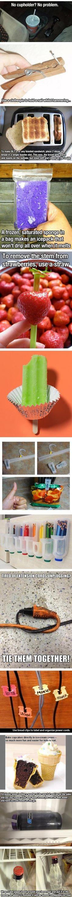 Some useful ideas!