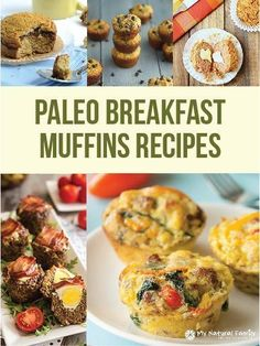 12 Paleo Breakfast Muffins Recipes | #paleo