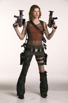 Alice - Resident Evil.  I think I'll be making a halloween costume this year