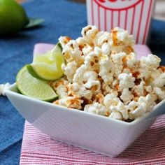 Smoked Paprika and Lime Spice Popcorn