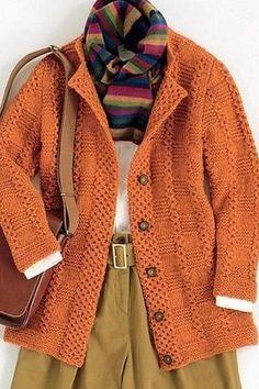 Knitting Stitches, Knitting Designs, Hand Knitting, Knitting Patterns, Crochet Patterns, Hand Knitted Sweaters, Long Sweaters, Cardigan Pattern, Crochet Yarn