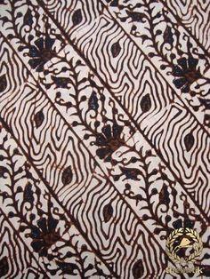 Kain #Batik Cap Jogja - Soco Kembang
