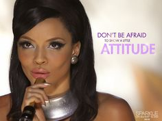 Don't be afraid to show a little attitude!