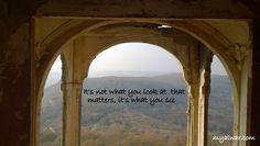 Bala Quila From Myalwar's Window