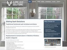 Specialists in new traditional sash window systems and restoration and conservation of wooden sash windows. Full range of services are available throughout Ireland for more information or to get in contact have a look on their new website Wooden Sash Windows, Windows And Doors, Conservation, Ireland, Restoration, Range, Traditional, Website, Design