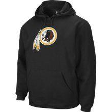 Washington Redskin Hoody Sweatshirts : Reebok Washington Redskins Black Playbook Hoodie Sweatshirt