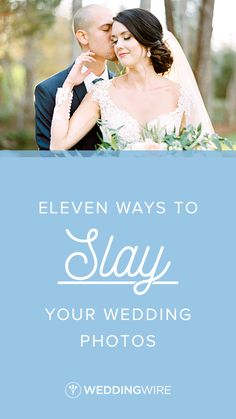 11 Ways to Slay Your Wedding Photos - Check out some of our favorite wedding photography tips for brides and grooms—straight from the experts on WeddingWire! {Michelle Lea Photographie}