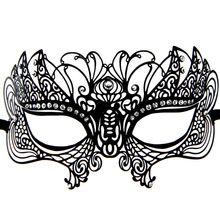 Metall Laser Cut Handwerk Strass Luxus Maskerade Maske(China (Mainland))