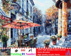 """Like and Share if you want this DIY Painting By Number – Market (16""""x20"""" / 40x50cm)     Tag a friend who would love this!     FREE Shipping Worldwide     Buy one here---> https://artgiftworld.com/diy-painting-by-number-market-16x20-40x50cm-2/"""