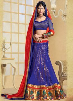 Fashionable Net #Lehenga Choli