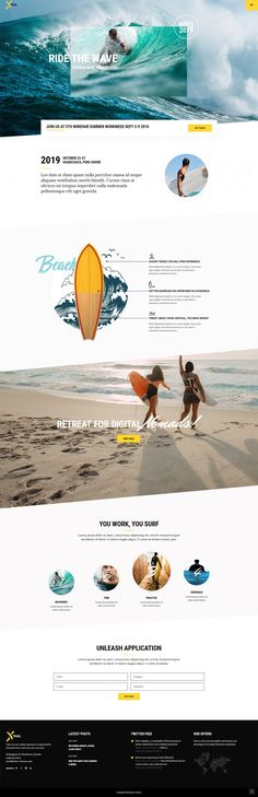 Xtrail - Extreme Sports and Outdoors Theme - Start your adventure with Xtrail, an extreme sports, adventure tour and outdoors WordPress theme. Professional Wordpress Themes, Best Wordpress Themes, Travel And Tourism, Travel Agency, Web Design Trends, Design Ideas, Layout Design, Sports Website, Sports Clubs