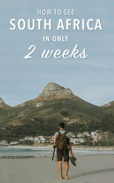 This two-week South Africa itinerary can show you some of the best of the country from wine regions to urban life from safari to city and from the sparkling Indian Ocean to the deserts of the Karoo. Here is how to spend two weeks traveling South Africa. South Africa Safari, North Africa, Morocco Travel, Africa Travel, Travel Europe, Africa Destinations, Travel Destinations, Holiday Destinations, Logo Inspiration