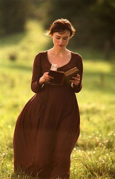 """I declare after all there is no enjoyment like reading! How much sooner one tires of anything than of a book! When I have a house of my own, I shall be miserable if I have not an excellent library."" -Miss Bingley, Pride and Prejudice"