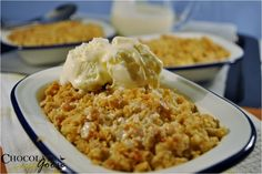 Mother's Day Apple Crumble