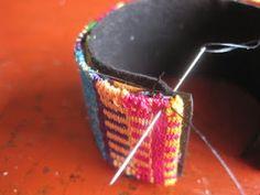 Mirrix's Weave-Along 4: The Tapestry/Bead Cuff Bracelet