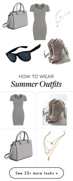 """My First Polyvore Outfit"" by gissellet70 on Polyvore featuring Miss Selfridge, MICHAEL Michael Kors and Retrò"