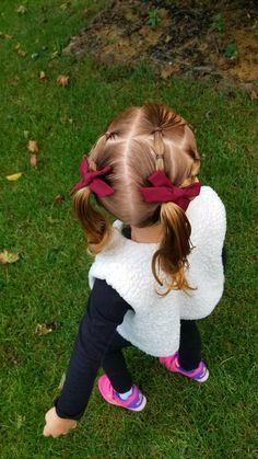 Cute pigtails for girls