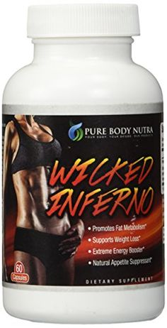 #1 Thermogenic, Fat Burner , Weight Loss Supplement. Fat Burner Designed for EXPEDITED WEIGHT LOSS. Contains 8 EXTREME weight loss ingredients in only 2 CAPSULES DAILY. EXTREMELY POTENT FAT BURNER ! Try WICKED INFERNO by Pure Body Nutra NOW !