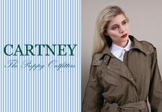 The @Cartney Store @ Zeist welcomes a new Preppy Style: The Straincoat Trench Coat Classic. www.cartney.nl