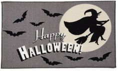 Sweet) JCP HOME JCPenney HomeTM Happy Halloween Rectangular Rug #Halloweendecor #halloweendecor