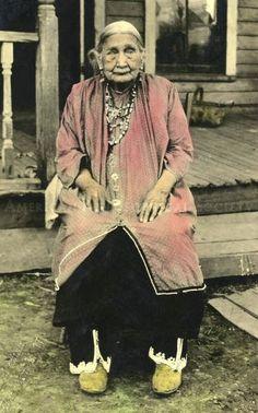 Seneca Iroquois Woman in the 1890's