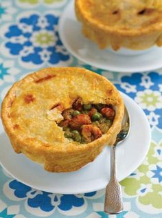 Gotta try this!   Love pot pies and love Crawfish.   A match made in stomach heaven!  Crust:  1 1/4 cups all-purpose flour 1/4 teaspoon salt 8 tablespoons cold butter 3-4 tablespoons ice-cold water In a mixing bowl, whisk the flour and salt to combine. Cut the butter into small pieces, and add it to the bowl. Using a pastry cutter or two knives, cut the butter into the flour until it resembles coarse meal. Add the water 1 tablespoon at a time, mixing it in with a fork, until dough forms…