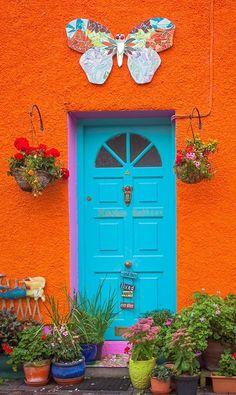 Kinsale, County Cork, Ireland - looking very much like the Old Pueblo - Tucson, AZ