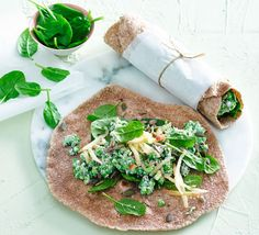These cheesy wraps are loaded with immune-friendly nutrients, including vitamin C and can be made ahead for an easy packed lunch.
