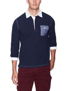 Pike Long Sleeve Cotton Polo