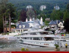 Oprah Yacht | Oprah's yacht - Harpo