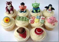 Cool Cupcakes | Cool Toy Story Cake and Cupcakes