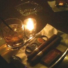 Cigars and scotch