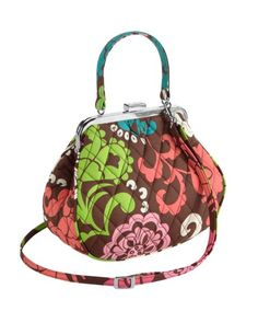 Mini Frame Crossbody Vera Bradley - I love the size and style of this bag! 03e9bb66d0bcf