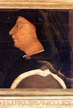 """Filippo Brunelleschi was a goldsmith in a Florentine workshop and was a member of the goldsmiths' guild, although his interest in mathematics led him to architecture. In 1401 Brunelleschi made himself known by winning the competition for the second door of Baptistery """"ex aequo"""" with Lorenzo Ghiberti. Brunelleschi was not happy with the decision and allowed Ghiberti to have the commission."""