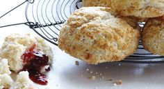 Blueberry Buttermilk Biscones A one-bowl pastry from a southern bakery. Get the recipe.