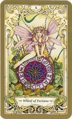 Keywords/phrases associated with the Wheel of Fortune tarot card:     Upright - lucky, fortunate, cycles, good timing, positive change     Reversed - unlucky, unfortunate, gambling, unsuccessful, bad tim