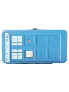 Doctor Who TARDIS Hinge Wallet | Hot Topic