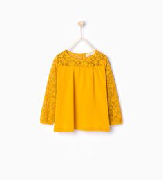 Image 1 of Large lace blouse from Zara