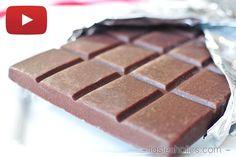 How to Make a Low Carb Chocolate Bar [VIDEO] | Tasteaholics.com