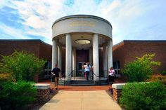 Main entrance to the UNC School of Law. Photo by Donn Young.
