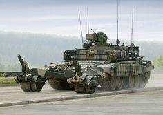 Российская армия получила бронемашины разминирования созданные на базе танка Т-90